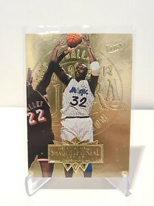 1995-96 Shaquille O'Neal Fleer Ultra Gold Medallion Parallel #126 NM