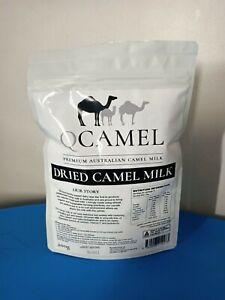 Qcamel Dried Premium Powder Camel Milk Long Life Casein Free Organic Halal Pure