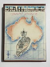 USS NEW JERSEY BB-62 Big Thunder Down Under Cruise Book 1988
