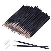 50 pcs Disposable Eyeliner Makeup Wand Applicator Cosmetics Brush Tools New