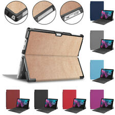 Hard Shell Tablet Case Protective Cover Skin Fit For Surface Pro 7 PC+PU Leather