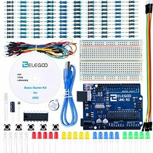 ELEGOO UNO Project Basic Starter Kit with Tutorial and UNO R3 Compatible with...