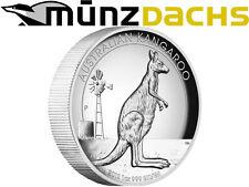 $1 Dollar 1 oz High Relief Silver Kangaroo Australia 2012 Proof