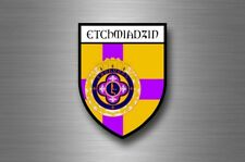 Sticker decal souvenir car coat arms shield city travel armenia Vagharshapat
