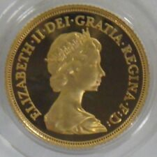 1982 UK Great Britain Proof Gold Sovereign Coin