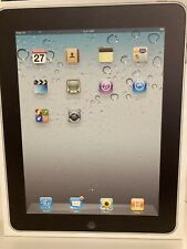 Apple iPad 1st Gen.  A1337 16GB ,WiFi 3G Cellular, minimal scratches, With Box