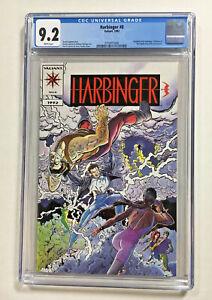 Harbinger #0 CGC 9.2 NM-  Valiant comic 1992