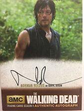 Walking Dead Season 4 PART 1 Norman Reedus - Daryl STANDARD AUTOGRAPH NR3