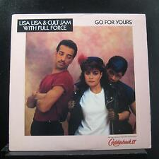 """Lisa Lisa And Cult Jam - Go For Yours 12"""" Mint- 44 07867 Promo 1988 Vinyl Record"""