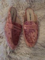 Hot Kiss Women's Velvet Mule Slide Shoes Size 11 NEW