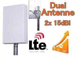 LTE 4G DUAL Antenne 2x15dBi Speedport LTE II VODAFONE B593u12 B390 B1000 B2000