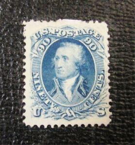 nystamps US Stamp # 72 Mint OG H $3250   F26x064
