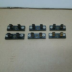 Lot Of 6 Littlefuse Fuse Block Holder 556 For 10mm Dia Fuses