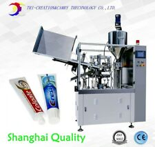 sealing machine tube,tooth paste filling and sealing machine,soft tube filling