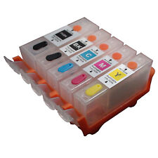 CANON IP4200 IP4300 IP4500 IP5200 IP5300 MP500 MP600 refillable ink cartridge