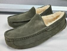 UGG ASCOT 1101110 BURNT OLIVE MEN'S SLIPPERS, AUTHENTIC/ SIZE 9/ BRAND NEW