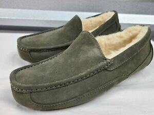 UGG ASCOT 1101110 BURNT OLIVE MEN'S SLIPPERS, AUTHENTIC/ SIZE 8/ BRAND NEW