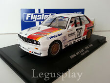 Slot car SCX Scalextric Fly 038101 BMW M3 E-30 DTM 1988 Kurt König Nº14