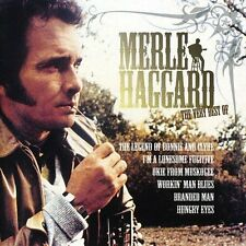 The Very Best of Merle Haggard (CD, 2007, 2 Discs, EMI Gold)