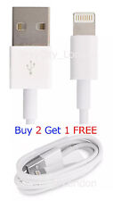 Genuine Apple Sync & Charge USB Data Cable For iPhone 6 5 5C 5S iPad 4 Air