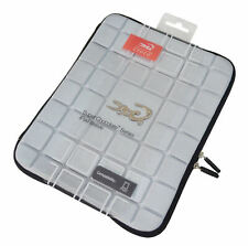 Croco® Super Chocolate Case Cover Carry Sleeve for iPad 1,2 & 3  - Gray