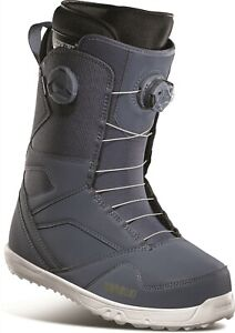 32 Thirtytwo STW Double Boa Mens Snowboard Boots Size 10 Blue New 2021