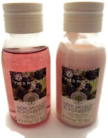SET 2 Mini Travel Yves Rocher BLACKBERRY Mure Savage Shower Gel & Lotion 1.7 oz