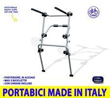 Portabici Fiat Seicento dal 1998>2005 posteriore porta 3 biciclette per auto kit