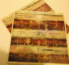 SPRL 0103/4 Bach Violin & Clavier Sonatas Carl Pini Colin Tilney Dennis Nesbitt