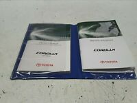 Genuine Toyota Corolla Hatchback 2009 Owner's Handbook and Service Log Book