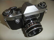 Appareil photo Praktica PL nova 1B oreston Meyer optik Görlitz 2,8 50mm lens DOMIPLAN G8