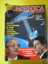 DOMENICA DEL CORRIERE ANNO 88 N. 43 25 OTTOBRE 1986