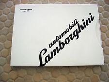 LAMBORGHINI OFFICIAL GALLARDO LP 560-4 SPYDER PRESS BROCHURE 2009 USA EDITION