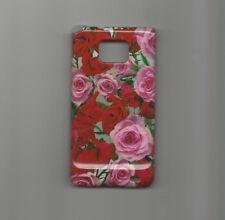 Case cover funda protectora para Samsung Galaxy S i9100 flores alto brillo nuevo