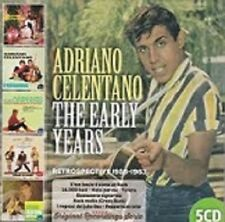 ADRIANO CELENTANO The early years retrospective 1958/63  5CD  beat pop