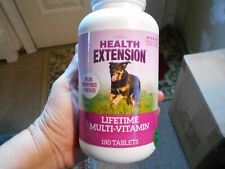 New listing Health Extension Lifetime Multi-Vitamins For Puppies And Dogs (180ct) Exp. 03/21