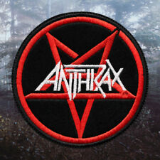 Anthrax - Pentagram | Embroidered Patch | USA | Thrash Metal Band from USA