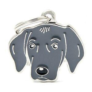 Weimaraner Dog ID Tag (62) - Engraved FREE - Personalised - Charm - Keyring