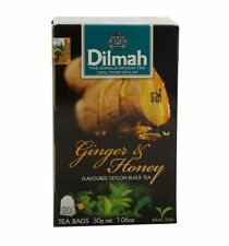 Dilmah Flavored Tea Ginger+Honey 20 Sachets 30Grams