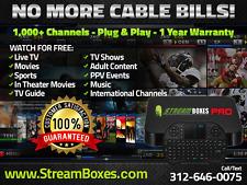 STREAMBOXES SMART ANDROID TV BOX 6.0 2GB 16GB OCTA CORE 4K + WIRELESS KEYBOARD