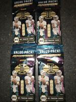 2020 PANINI ILLUSIONS NFL FOOTBALL - (4)FAT/VALUE PACK LOT - BURROW TUA HURTS RC