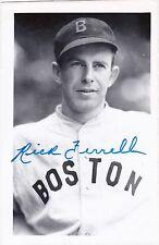 "Rick Ferrell Boston Red Sox Autographed 3 1/2"" x 5 1/4"" Photo"