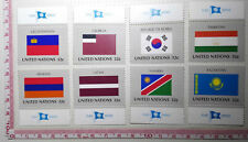 1997 UN New York FLAG SERIES MNH  8 co-sale