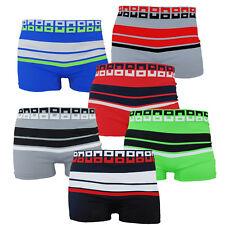 6 Pc Seamless Boxer Briefs Microfiber Compression Underwear For Men