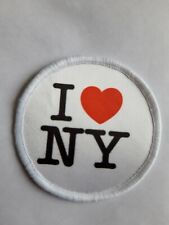 "I love NY New York USA 3"" Sublimation Iron Or Sew On Patch Badge Travel"