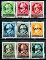 """1920>SAARGEBIET>Bavaria Posed """"SARRE"""" OVP>Unused,Used,CV$94.75."""