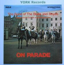 BAND OF THE BLUES & ROYALS - On Parade - Excellent Con LP Record RCA INTS 1112