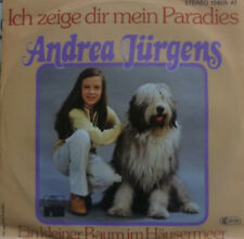 "7"" 1978 KULT MINT- ! ANDREA JÜRGENS : Ich zeige Dir mein Paradies"