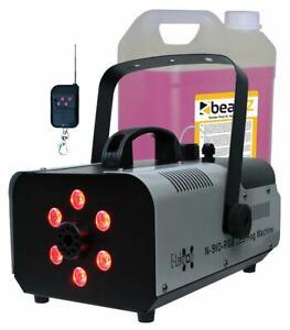 E-Lektron N-910-RGB Nebelmaschine 900W inkl. 5L Nebelfluid DJ Party Effekt LED
