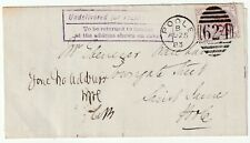 1883 VOTER OBJECTION POOLE DUPLEX 3d ON 3d SG159 CAT £450 ON COVER JAMES INKPEN